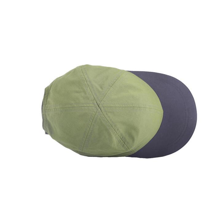 Schirmmütze Cap Hike 100 Kinder Jungen khaki