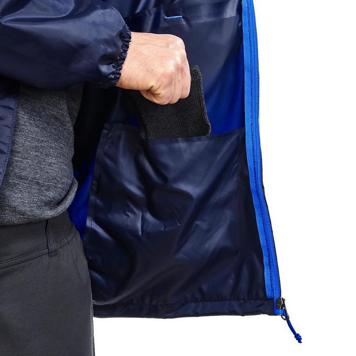 男款郊野健行防水斗篷-NH100 Raincut全拉鍊