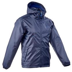 Raincut Zip Men's Waterproof Hiking Rain Jacket - Navy
