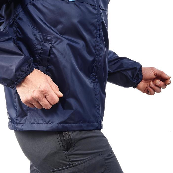 Regenjacke Raincut Zip Herren marineblau