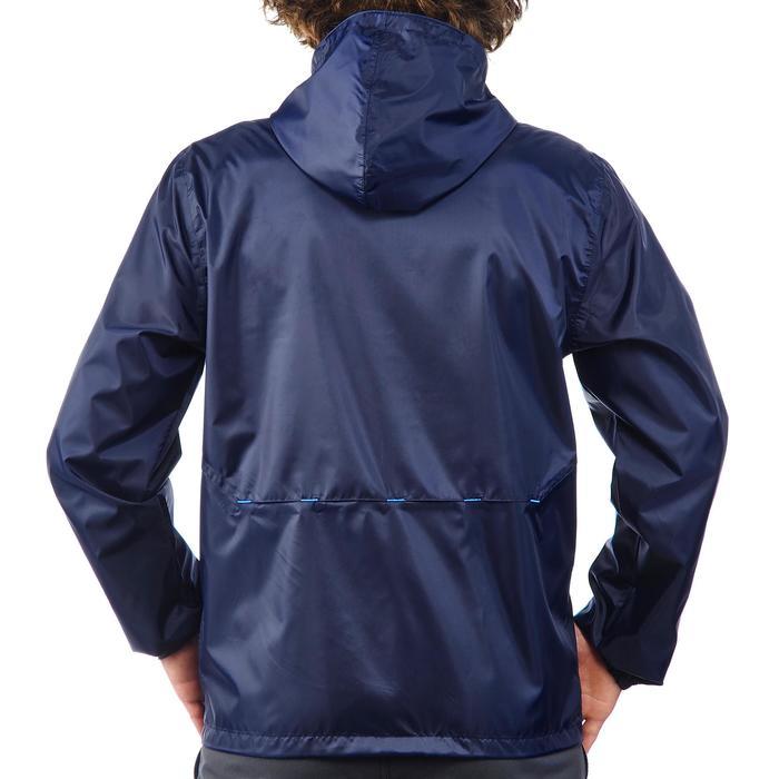 Coupe pluie Imperméable randonnée nature homme Raincut zip marine - 1172164