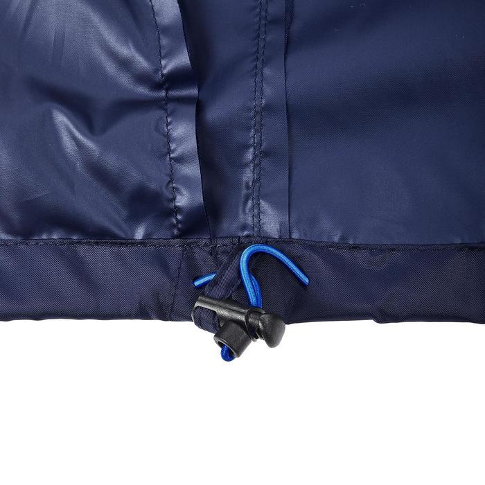 Chaqueta impermeable senderismo naturaleza hombre NH100 Raincut cremall. azul m