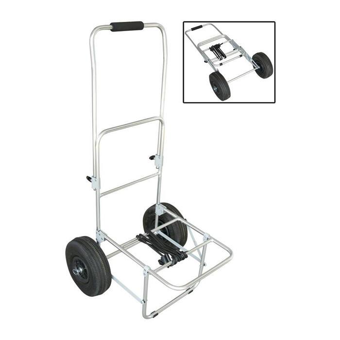 Aluminium trolley voor surfcasting