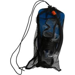 Kit plongée Palmes Masque et Tuba Snorkeling SNK 500 Adulte bleu noir
