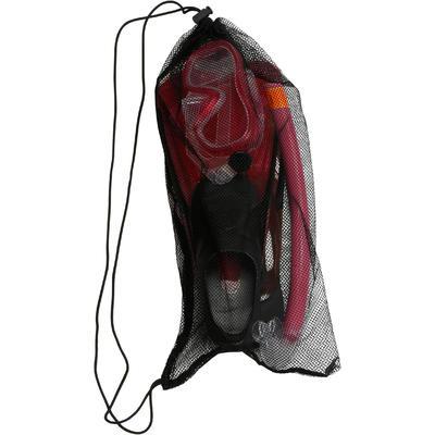 مجموعة من قناع وأنبوب التنفس للغوص PMT 100للأطفال - لون وردي