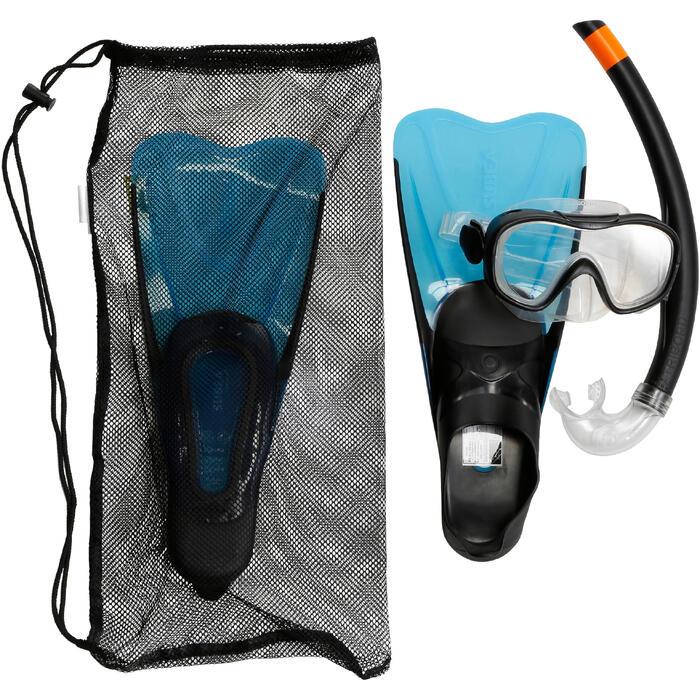 Kit de snorkeling PMT palmes masque tuba 100 enfant - 1172440