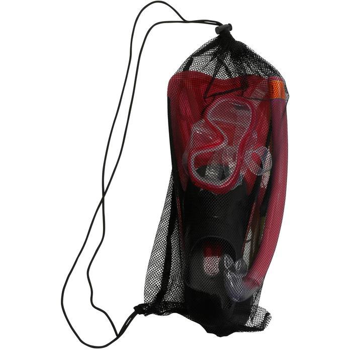 Kit de snorkeling PMT palmes masque tuba 100 adulte - 1172442