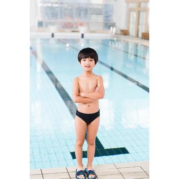 Zwemslip jongens 100 basic blauw