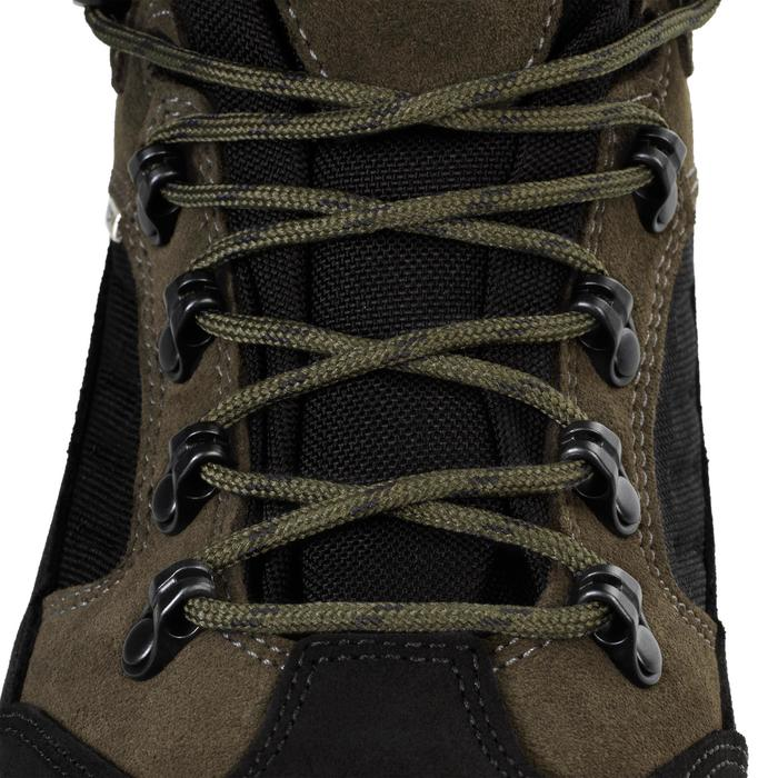 Chaussures chasse imperméables kaki Crosshunt 300