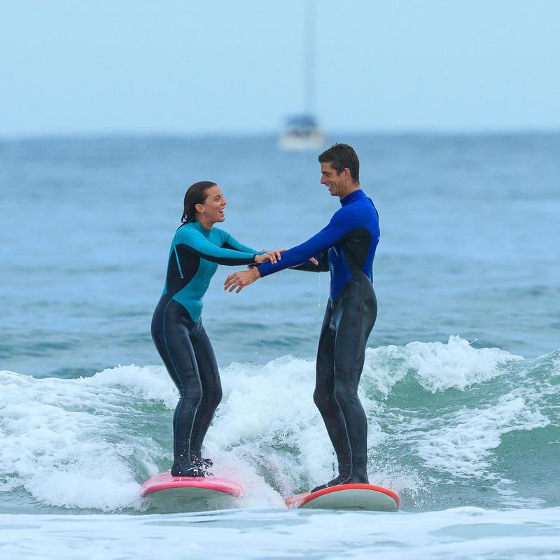 Traje SURF 100 Neoprén 4/3 mm Hombre