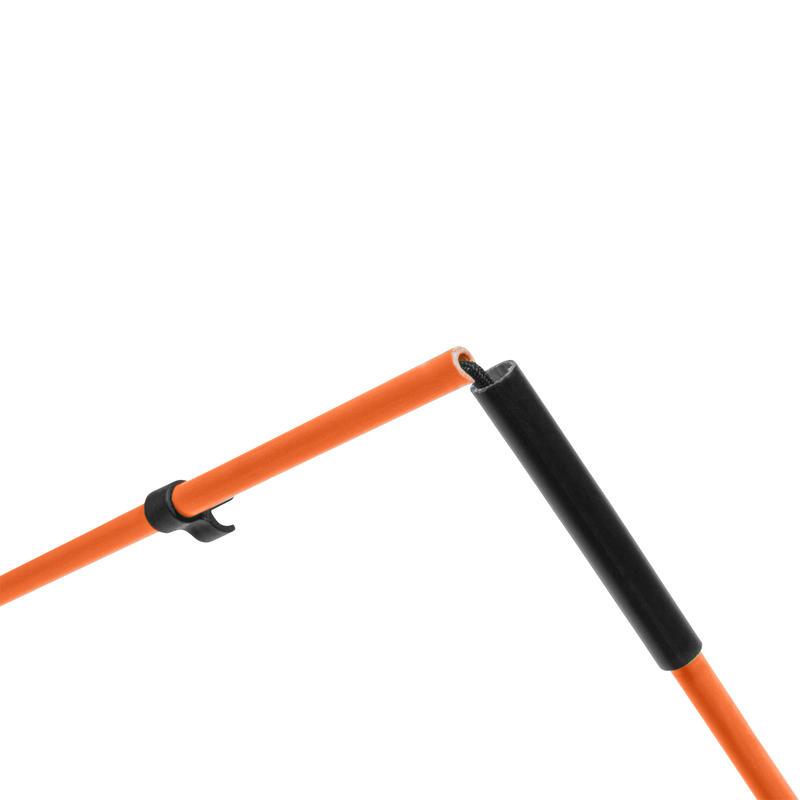 Orange alignment sticks x2