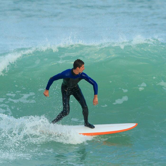 Combinaison Surf 500 Néoprène 4/3 mm Homme Bleu - 1172679