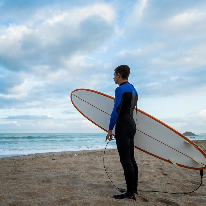 Combinaison Surf 500 Néoprène 4/3 mm Homme Bleu - 1172681