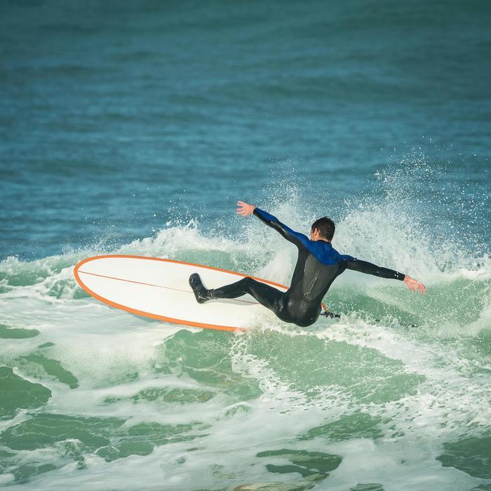 Combinaison Surf 500 Néoprène 4/3 mm Homme Bleu - 1172682