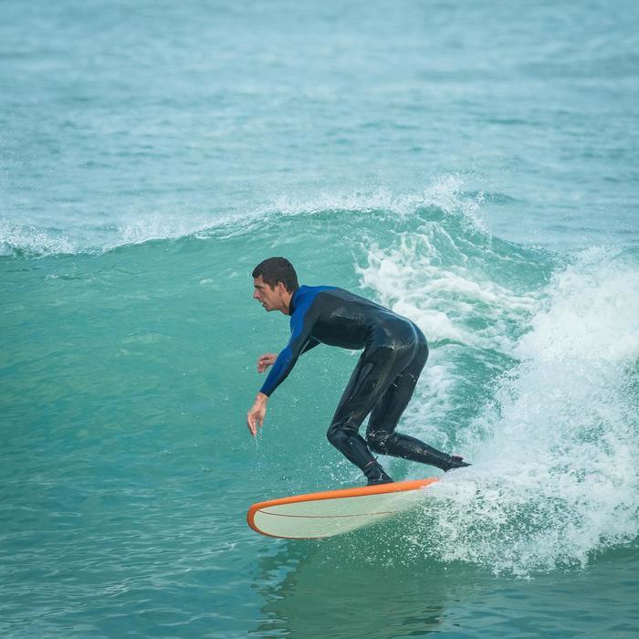 Combinaison Surf 500 Néoprène 4/3 mm Homme Bleu - 1172683