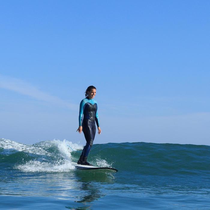 Combinaison Surf 900 Néoprène 5/4/3 mm Femme grise - 1172705