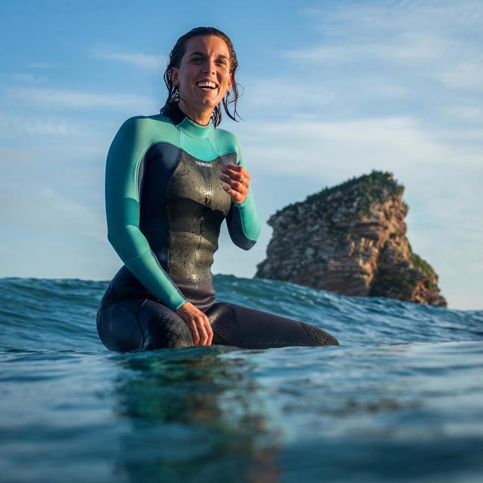 Combinaison Surf 900 Néoprène 5/4/3 mm Femme grise - 1172706