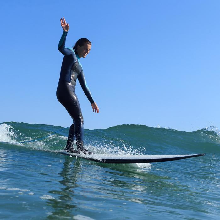 Combinaison Surf 900 Néoprène 5/4/3 mm Femme grise - 1172708