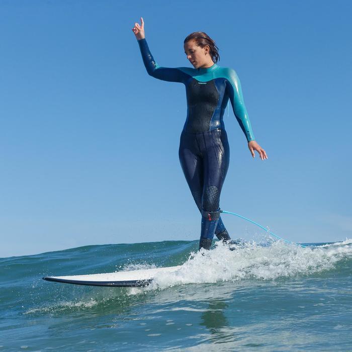 Combinaison Surf 900 Néoprène 5/4/3 mm Femme grise - 1172709