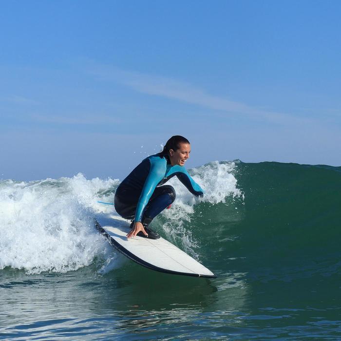 Planche de surf  longboard 900 9'4 stratifiée résine epoxy hand made. - 1172710