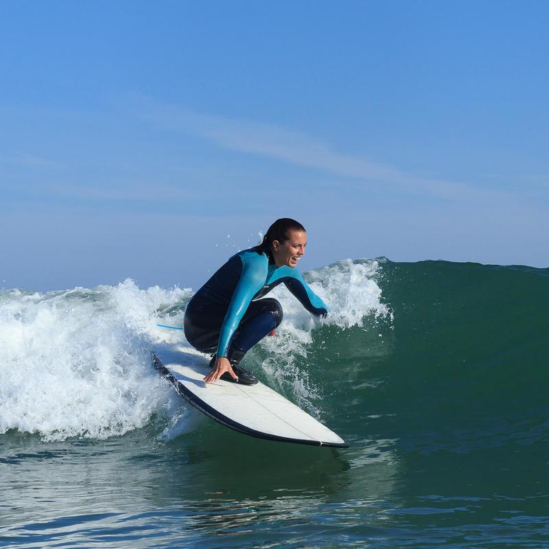 Traje Surf 900 Neopreno 5/4/3 mm Mujer Azul