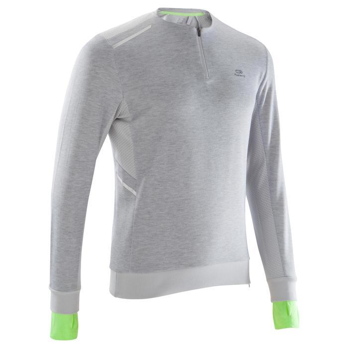 Run Warm+ Men's Running Long-Sleeved T-Shirt - Grey - 1172743