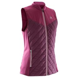 Run Warm Women's Running Sleeveless Gilet - Burgundy