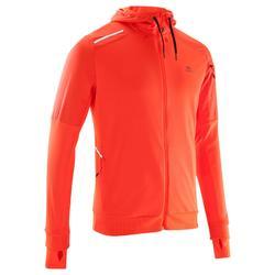Run Warm + Men's Running Jacket - Orange