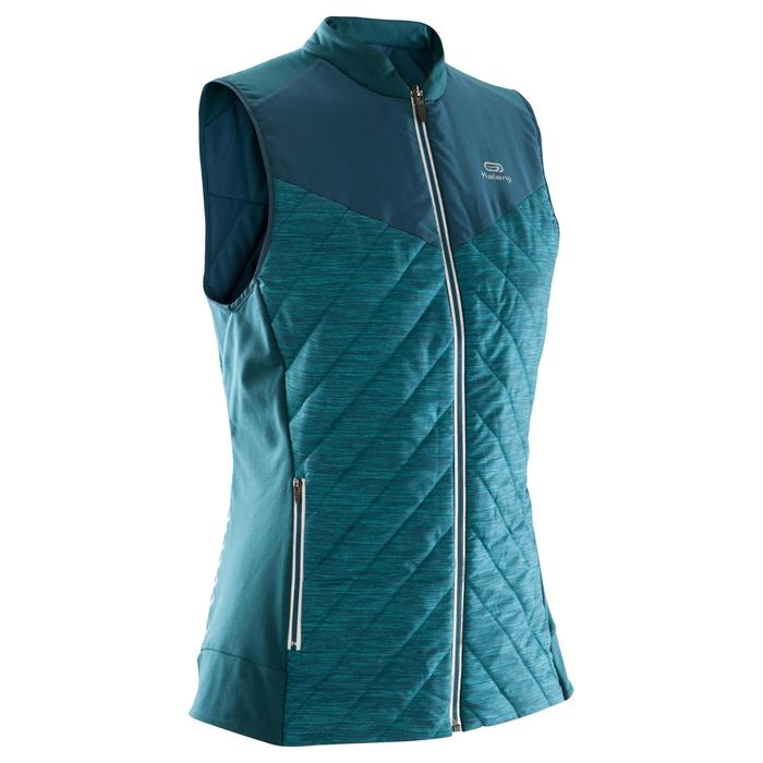 GILET SANS MANCHES JOGGING FEMME RUN WARM - 1172761