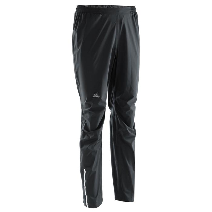 Pantalon imperméable trail running homme noir - 1172765