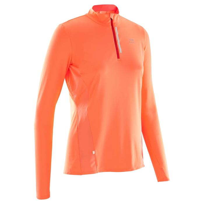 MAILLOT MANCHES LONGUES JOGGING FEMME RUN DRY+ ZIP - 1172774