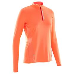 MAILLOT MANCHES LONGUES JOGGING FEMME RUN DRY+ ZIP