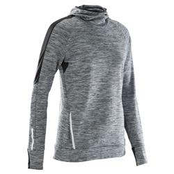 Shirt lange mouwen jogging dames Run Warm Hood