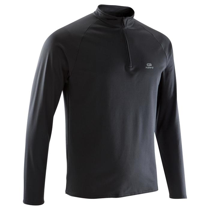 TEE SHIRT MANCHES LONGUES RUNNING HOMME RUN WARM - 1172791