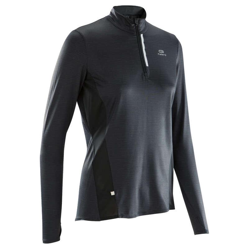 DÁMSKÉ PRODYŠNÉ OBLEČENÍ NA JOGGING Běh - BĚŽECKÉ TRIČKO RUN DRY+  KALENJI - Běžecké oblečení