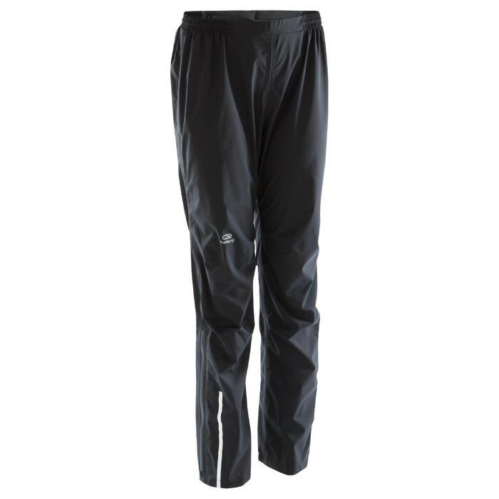 Pantalon imperméable trail running noir femme - 1172813
