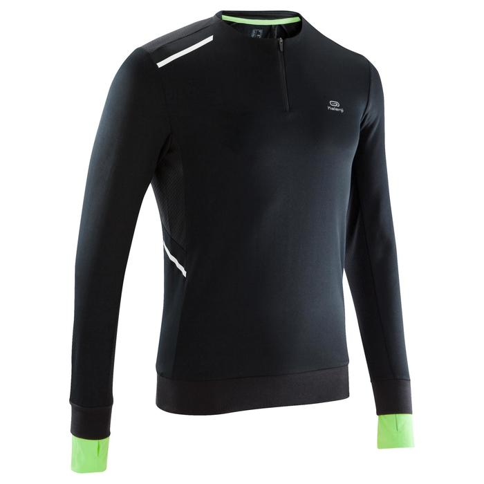Run Warm+ Men's Running Long-Sleeved T-Shirt - Grey - 1172831