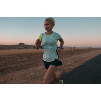 Gps-horloge voor running en hartslagmeting aan de pols ONmove 500 groen