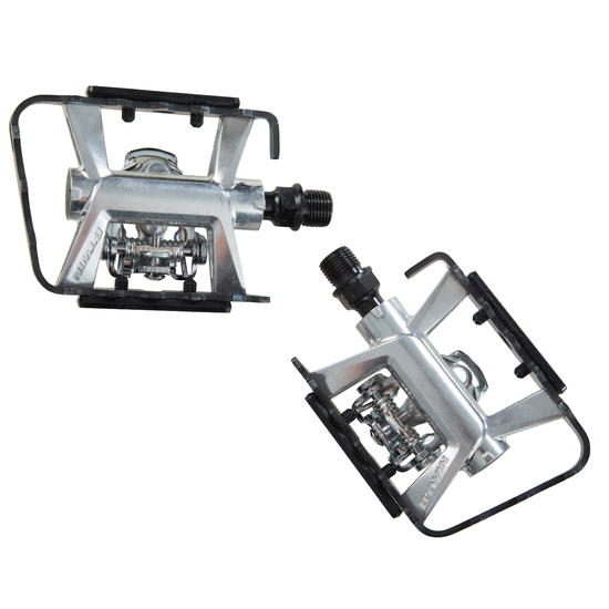 500 Spd Dual Function Mountain Bike Pedals Mtb And Leisure Bike