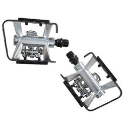 PEDALES MTB MIXTOS ST 500 COMPATIBLES SHIMANO SPD