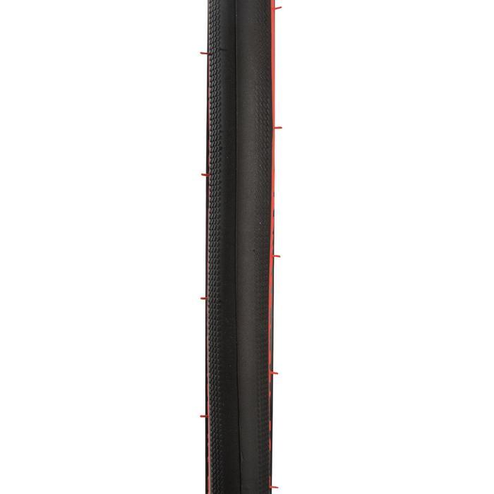 PNEU ROUTE PERF 9 700x25 LIGHT ROUGE TRINGLES SOUPLES / ETRTO 25-622
