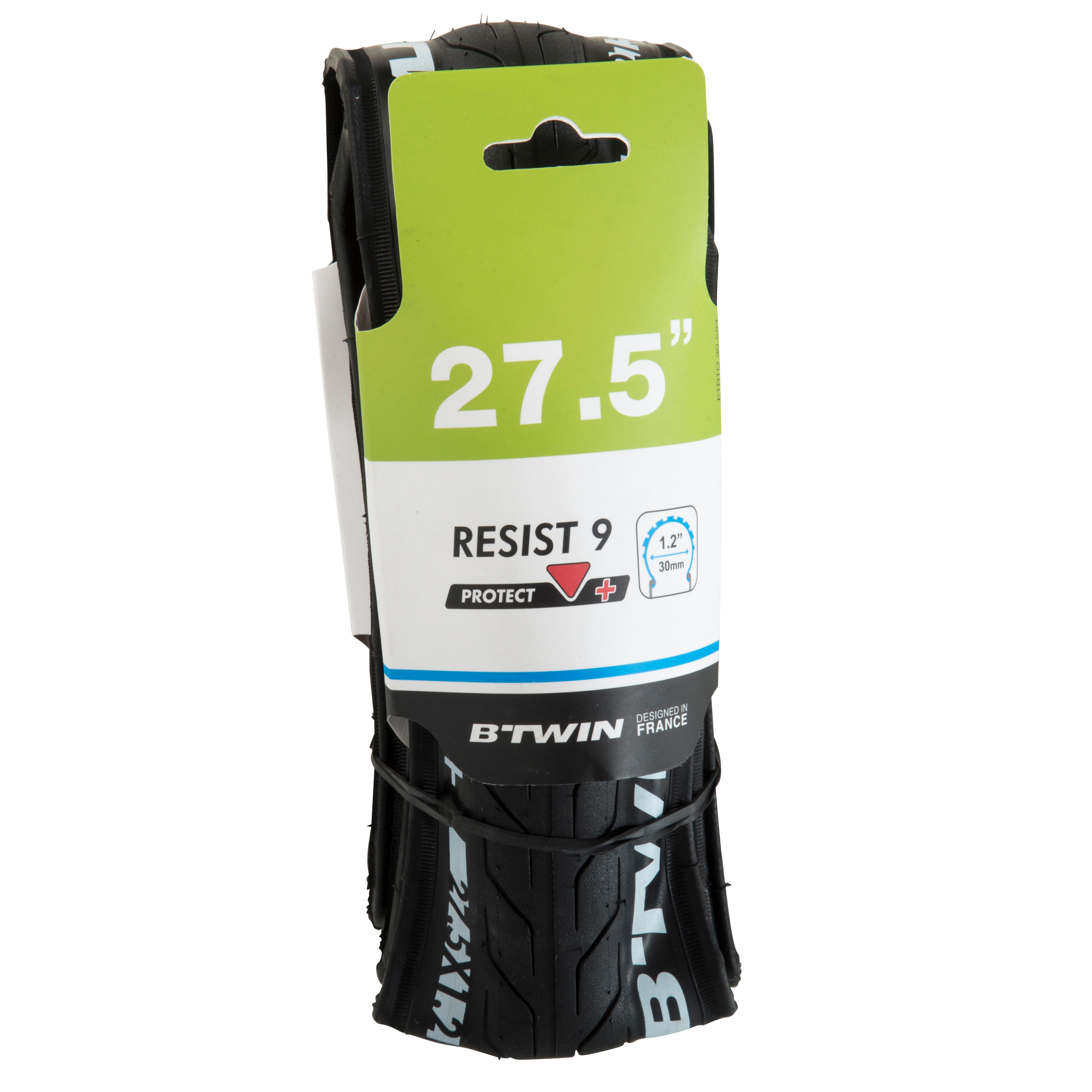 Resist 9 Slick 27.5x1.2 Flex Bead + Protection MTB Tyre / ETRTO 30-584