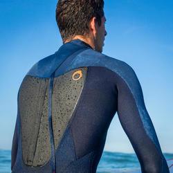 Heren surfpak 500 neopreen 3/2 mm blauw - 1172999