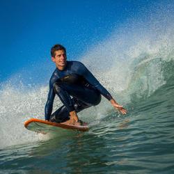 Heren surfpak 500 neopreen 3/2 mm blauw - 1173001