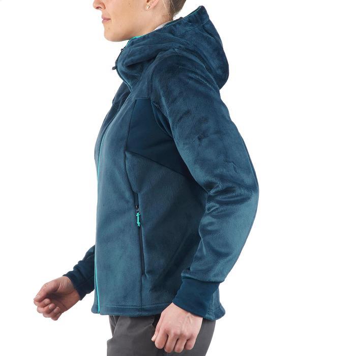 Veste polaire de randonnée montagne femme Forclaz 500 - 1173504