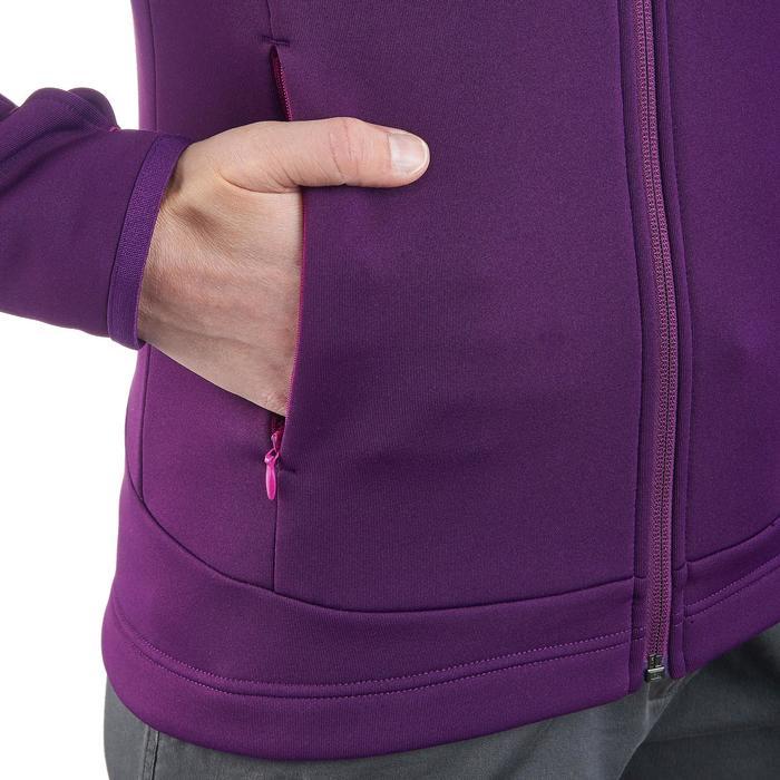 Veste polaire de randonnée montagne femme Forclaz 400 stretch - 1173506