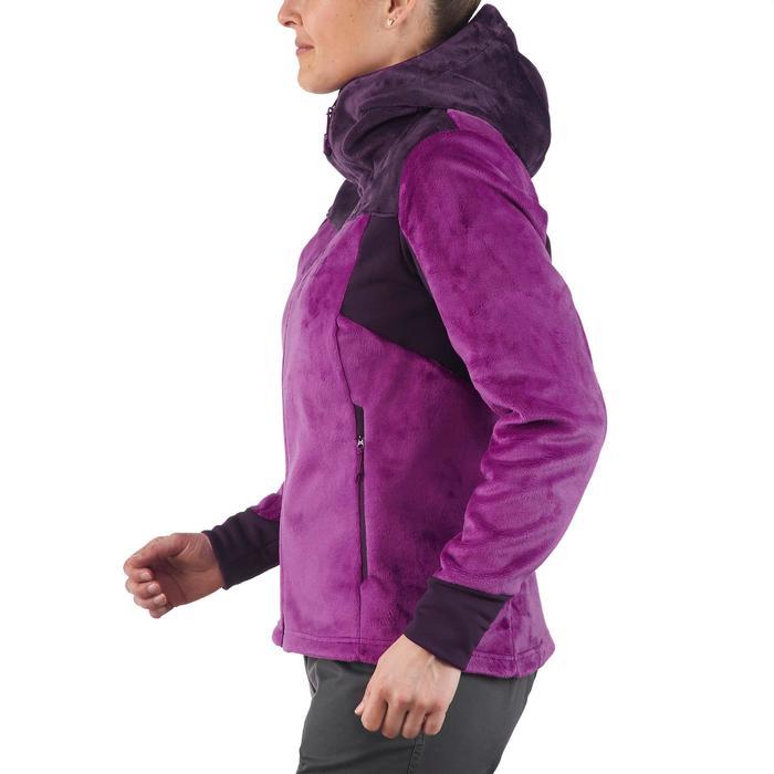 Veste polaire de randonnée montagne femme Forclaz 500 - 1173514