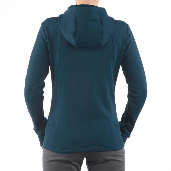 Veste polaire de randonnée montagne femme Forclaz 400 stretch - 1173566