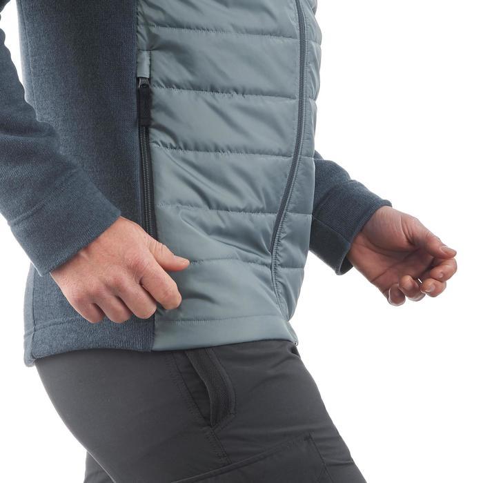 Men's nature hike pullover Arpenaz Hybrid brown - 1173574