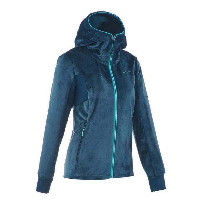 Veste polaire de randonnée montagne femme Forclaz 500 - 1173575